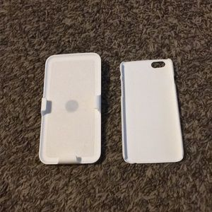 Accessories - White hard case for iPhone 6/6s with belt clip